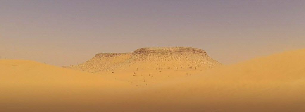 Tembaine im Sandsturm