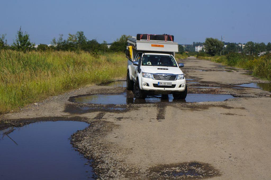 Ukraine - Katastrophenstraßen