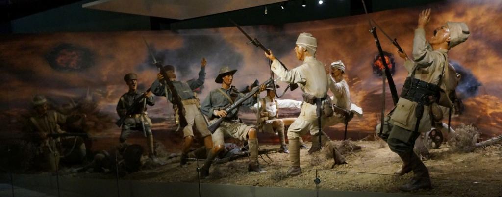 Gallipoli Museum: Gefecht der Puppen