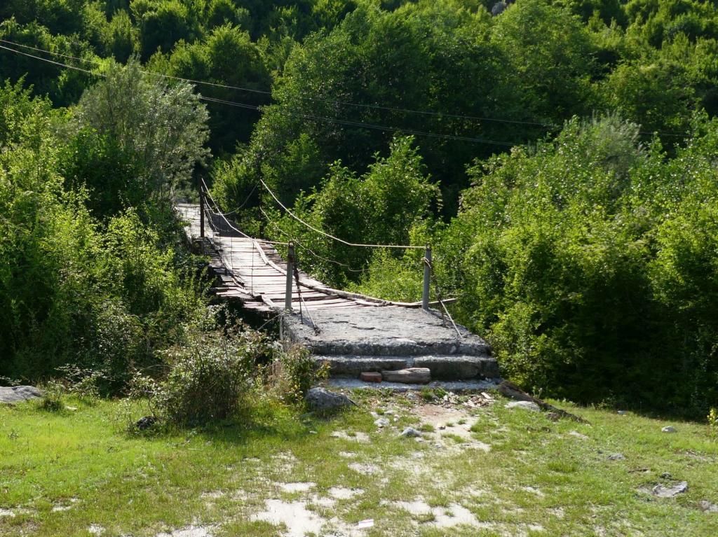 Theth - Hängebrücke