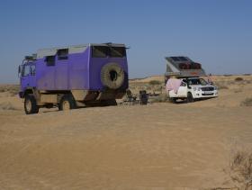Vor der Wüste