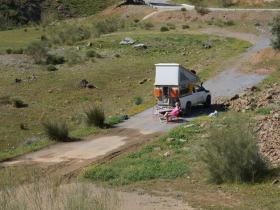 Camp in Spanien