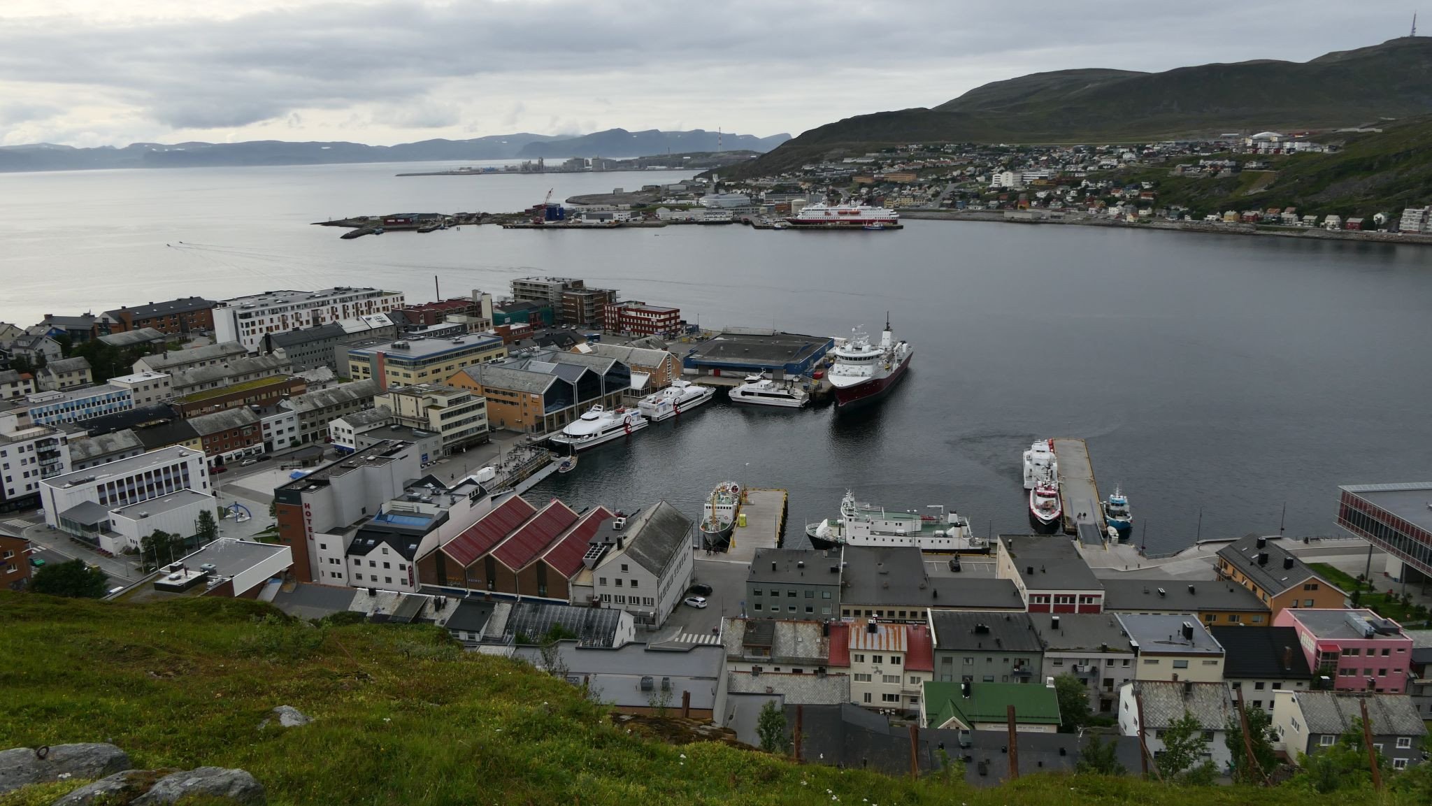 Hammerfest - die nördlichste Stadt Europas