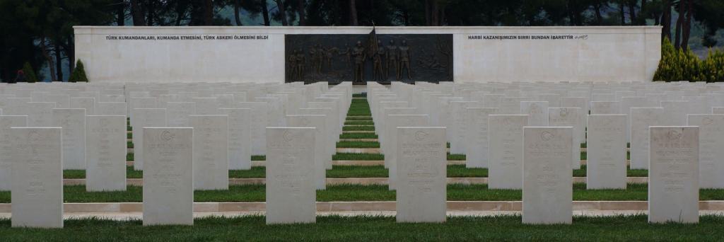 Friedhof Türkischer Soldaten, die auf Befehl sterben mussten