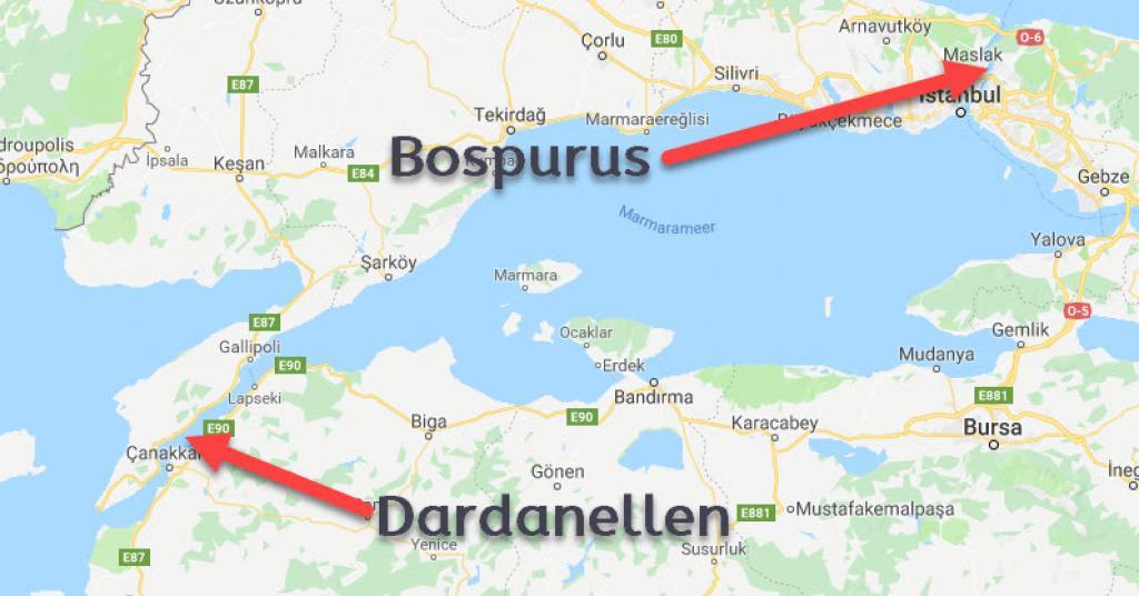 Gallipoli - Dardanellen - Bosporus