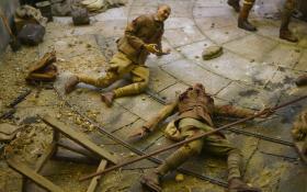 Gallipoli Museum: Gefallene Puppen